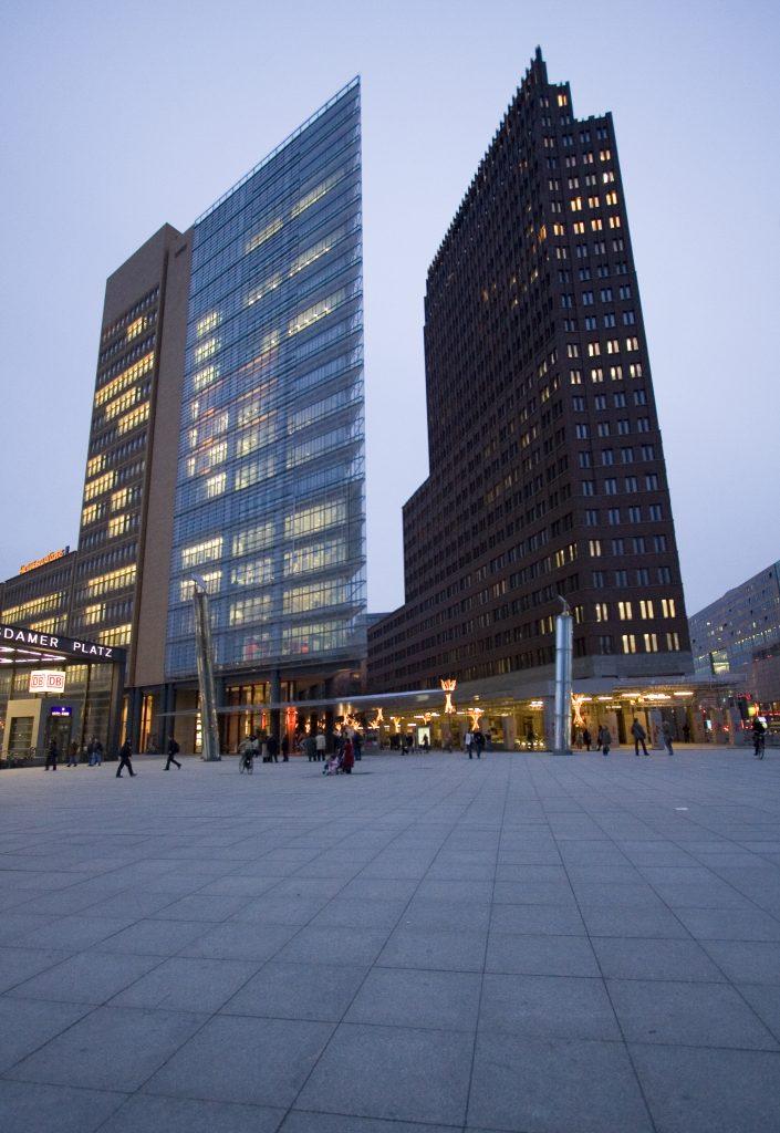 architecture de la Potsdamer Platz