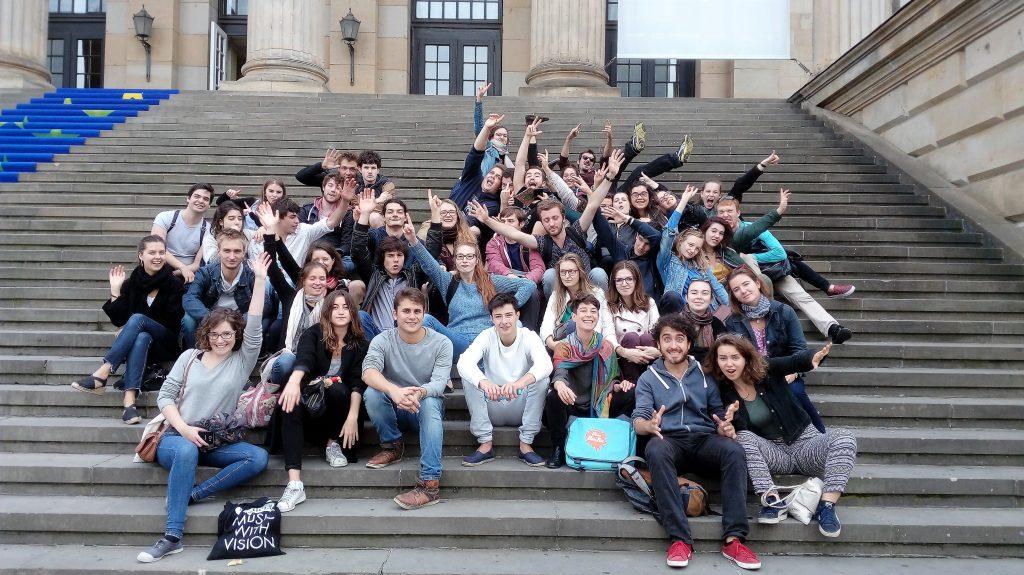 voyage scolaire à Berlin